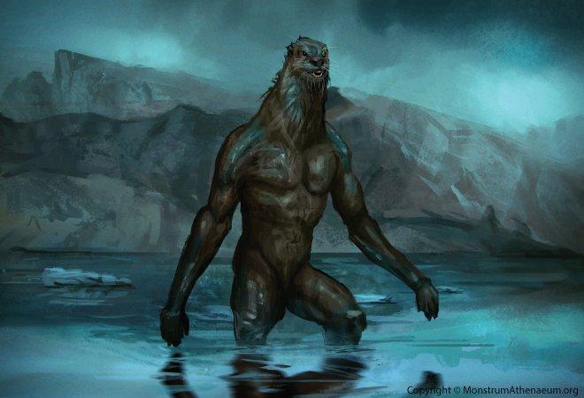 Kushtaka: A creature half giant, half otter in Alaska
