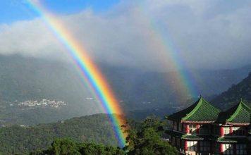 longest lasting rainbow taipei taiwan nov 2017, longest rainbow taipei taiwan, longest lasting rainbow taiwan, longest lasting rainbow taipei