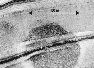 mysterious underwater sturcture sea of gallilee