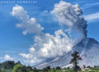 sinabung eruption december 2017, sinabung eruption december 14 2017