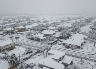 Snow covers Texas on December 8 2017, Snow covers Corpus Christi in Texas on December 8 2017 for first time in 13 years, snow corpus christi texas, snow southern texas, snow corpus christi texas dec 8 2017