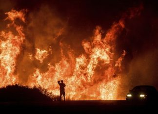 Thomas fire becomes largest fire in california history