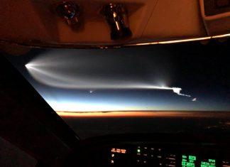 ufo space x arizona california