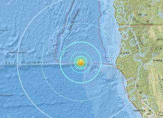 M5.8 earthquake hits off Northern California on January 25 2018, M5.8 earthquake hits off Northern California on January 25 2018 map, M5.8 earthquake hits off Northern California on January 25 2018 photo, M5.8 earthquake hits off Northern California on January 25 2018 video