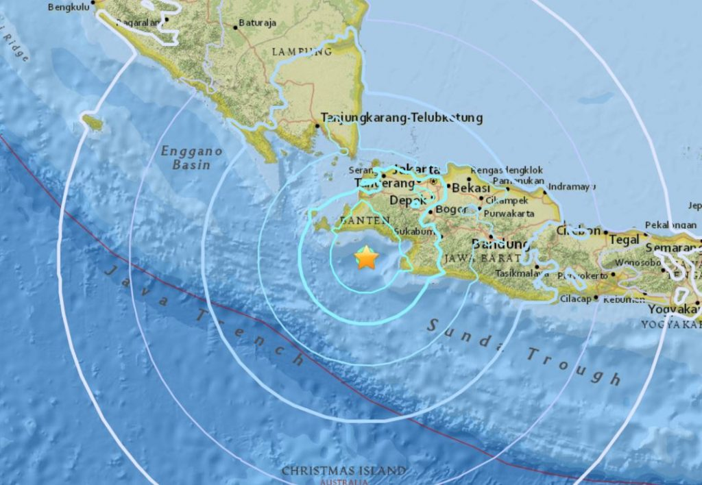 M6.0 earthquake java indonesia january 23 2018, M6.0 earthquake java indonesia january 23 2018 map, M6.0 earthquake java indonesia january 23 2018 video, M6.0 earthquake java indonesia january 23 2018 tsunami warnings, M6.0 earthquake hits of the island of Java in Indonesia on January 23 2018