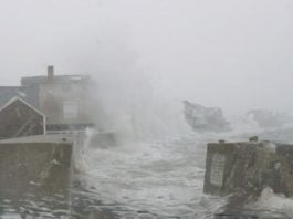 Scituate massachusetts storm surge and floods on January 30 2018, Scituate floods, massachusetts floods