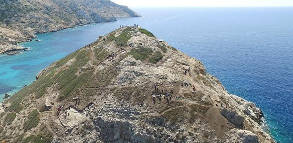Archeologists unearth evidence of 'unusually sophisticated' technology beneath ancient 'pyramid' on Greek island of Keros, New excavations on the remote island of Keros reveal monumental architecture and technological sophistication at the dawn of the Cycladic Bronze Age