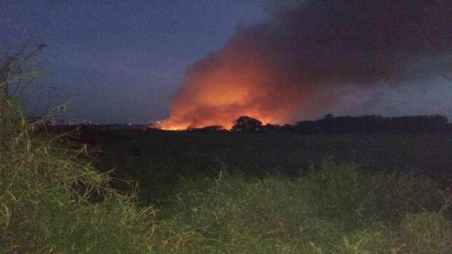 bellandur lake fire, bellandur lake fire bengalore, bellandur lake fire videos