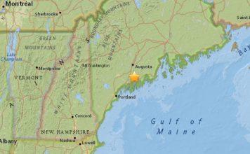 earthquake maine january 17 2018, M2.6 earthquake hits Maine on January 17 2018