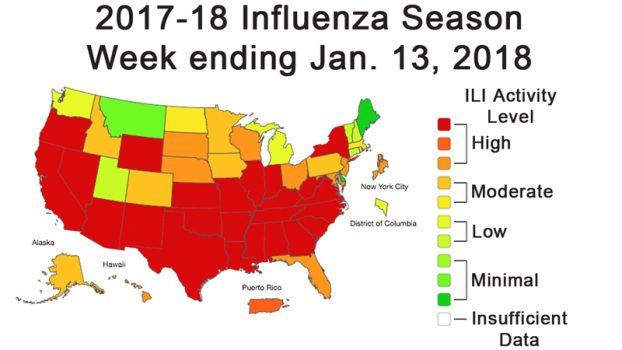 California Hospitals Face A War Zone Of Flu Patients