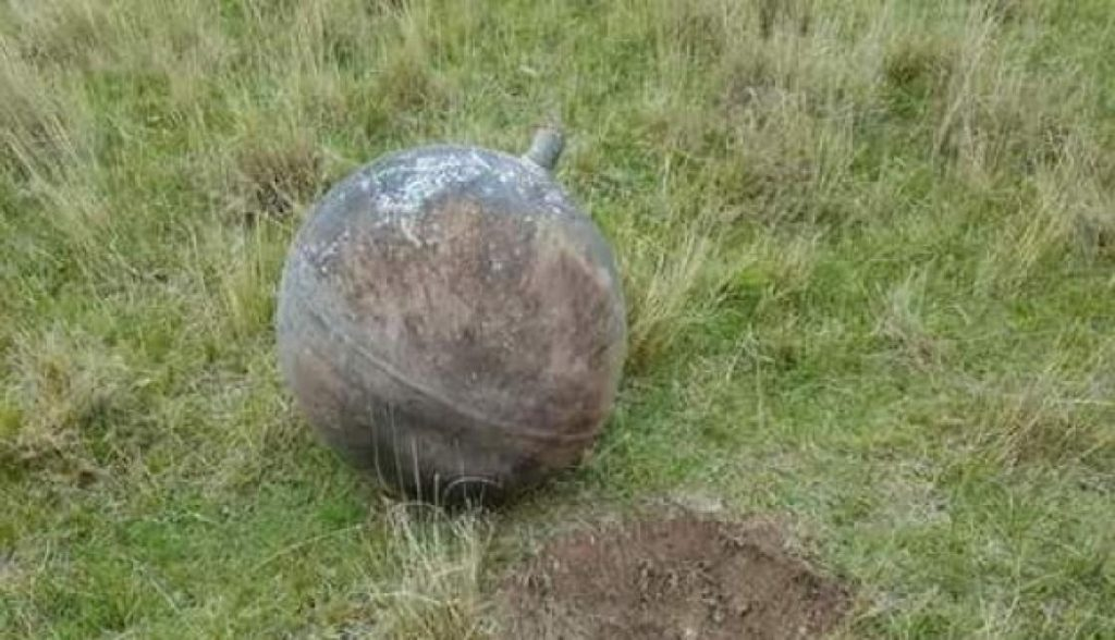 3 strange metallic spheres fell from the sky in Peru on January 27 2018, mysterious metallic spheres peru, peru spherical objects fall from sky january 2018