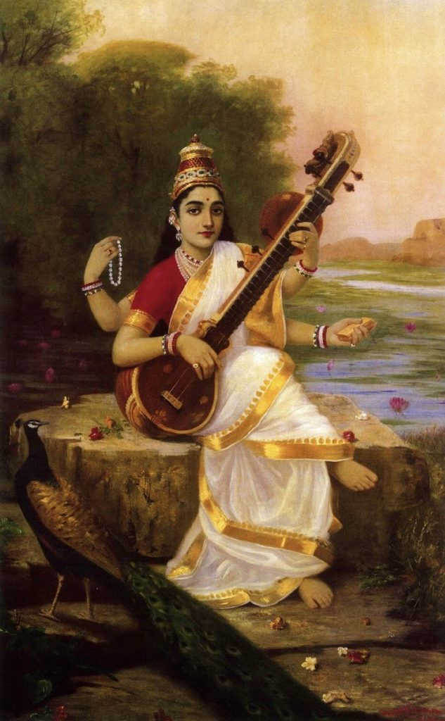 Goddess Saraswati, sarasvati goddess, river mysteriously disappears underground