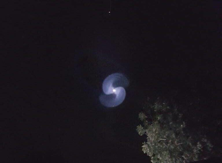 strange sky spiral spacex launch, strange sky spiral secret spacex Zuma launch, mysterious blus spiral sky sudan, strange blue spiral sudan sky jan 7 2018