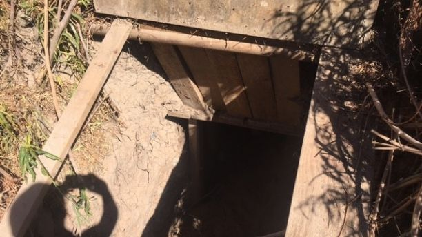 Border Patrol agents in El Paso Texas found a 75-foot tunnel along the U.S. bank of the Rio Grande river, tunnel el paso texas, discovery tunnel el paso texas