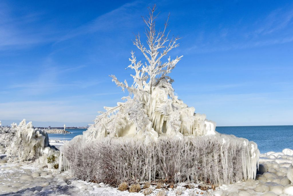 whiting ice, whiting ice photos, whiting ice pictures, whiting ice video jan 2018