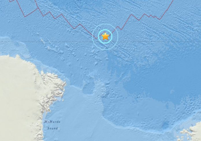 M6.0 earthquake hits off Antarctica on February 2 2018