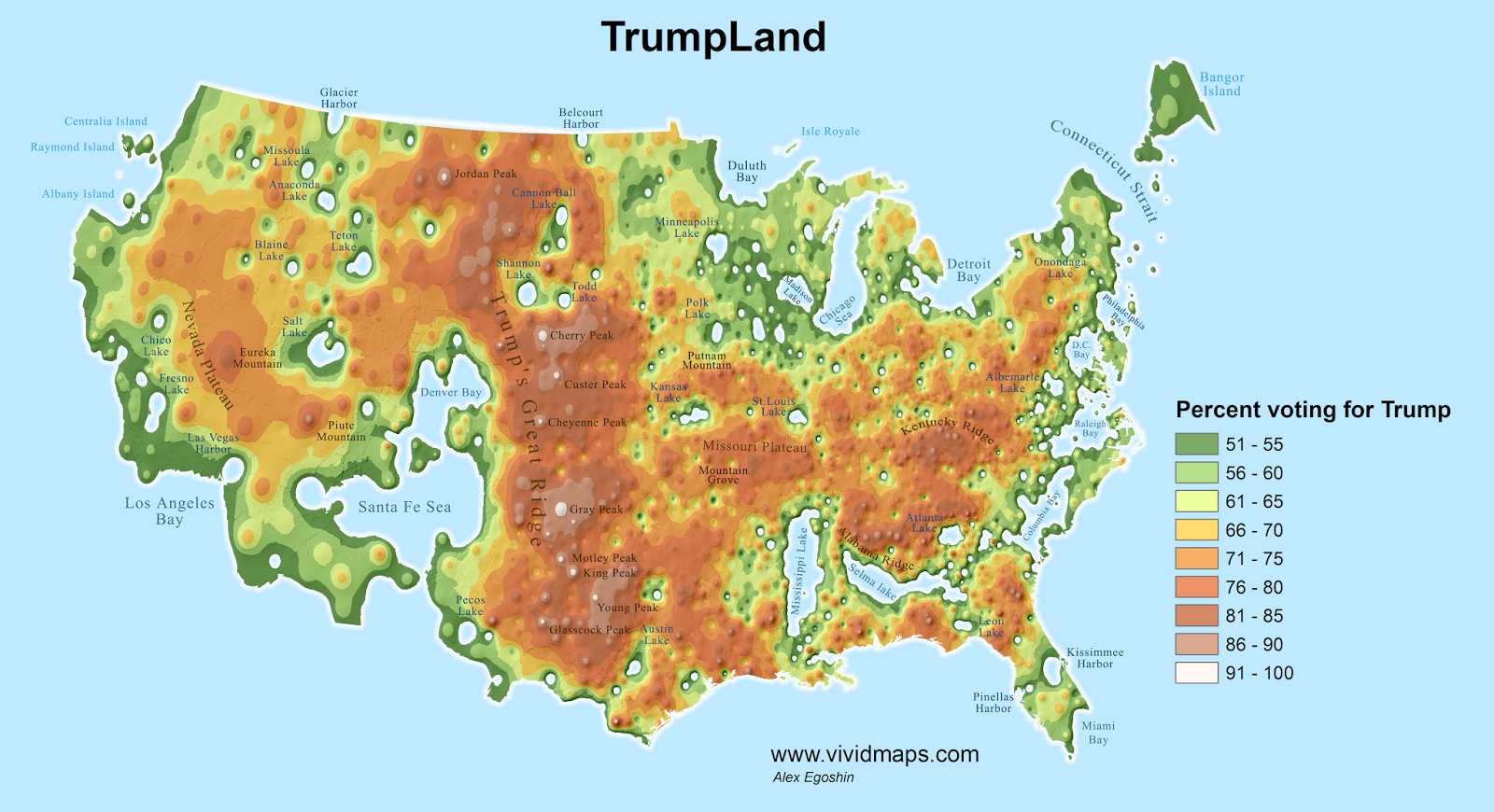 A physical map of faith in the usa the mormons welcome you to utah trumpland map publicscrutiny Images