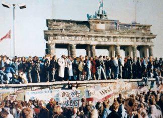 The Berlin Wall has now been down longer than it was up, berlin wall brandenburg gate 1989, berlin wall is