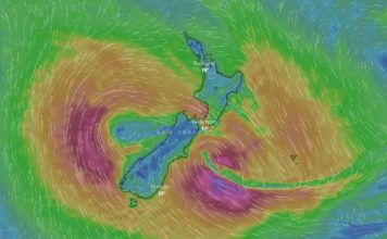 Gita: State of emergency as storm hits New Zealand, cyclone gita splits in two new zealand, cyclone gita splits in two new zealand picture, cyclone gita new zealand, new zealand cyclone gita, emergency