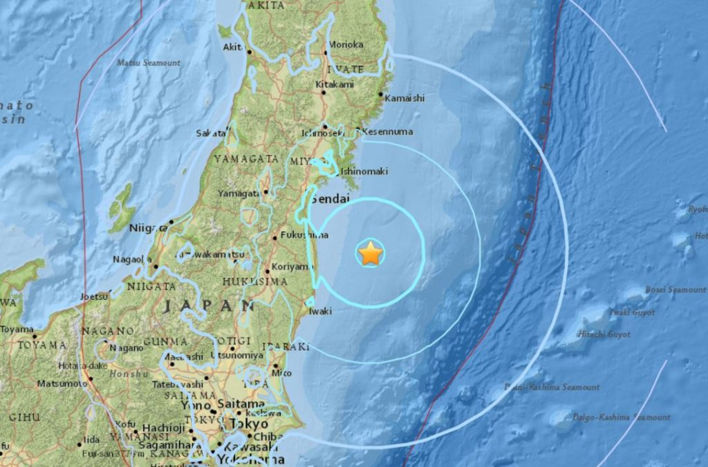 earthquake japan, earthquake japan february 25 2018