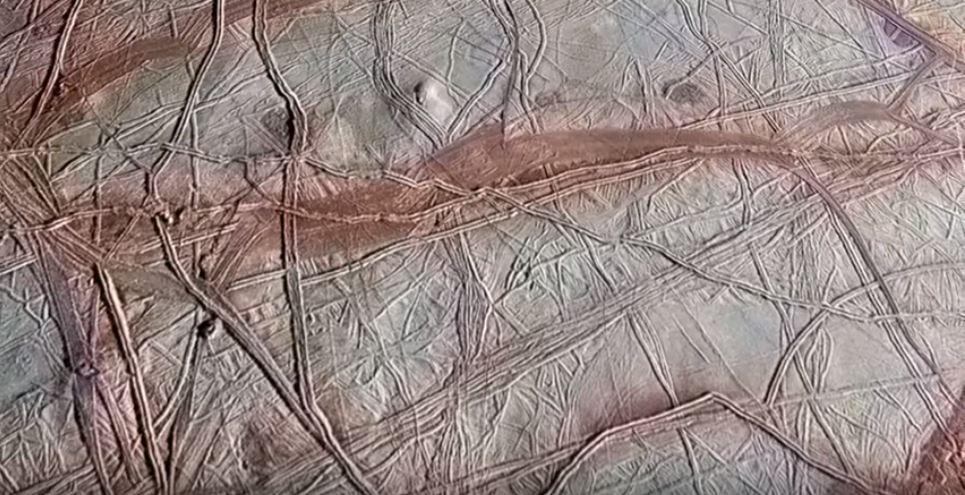 Flyover of Jupiter Moon Europa, europa jupiter moon flyover video