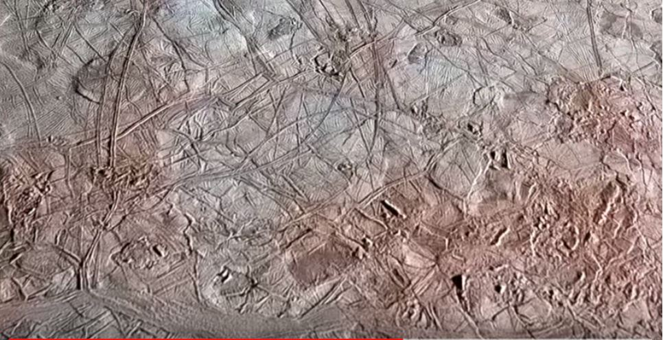 Flyover of Jupiter Moon Europa, europa jupiter moon flyover video
