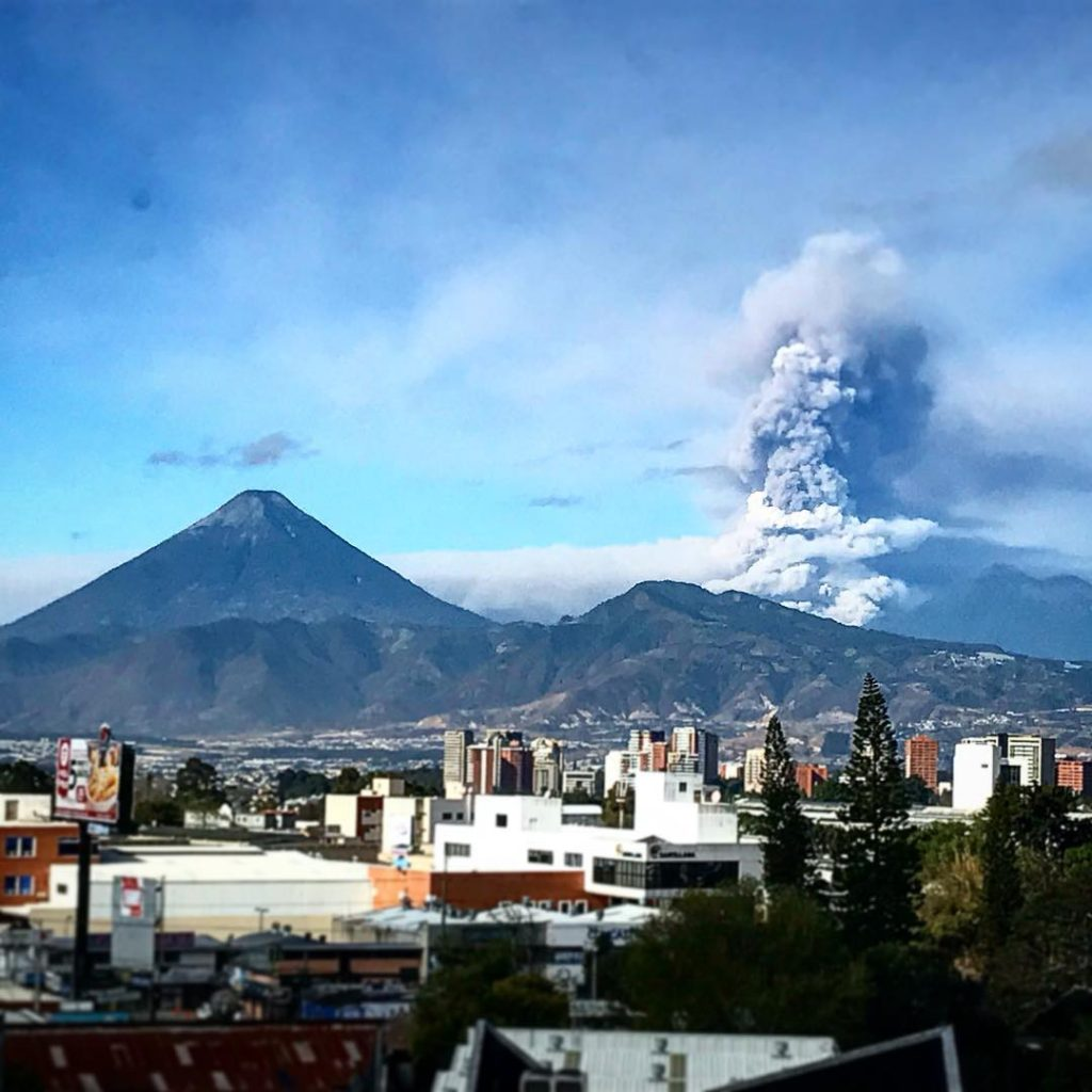 Fuego volcano eruption in Guatemala on February 1 2018, Fuego volcano eruption in Guatemala on February 1 2018 pictures, Fuego volcano eruption in Guatemala on February 1 2018 video, Fuego volcano eruption in Guatemala on February 1 2018 photo