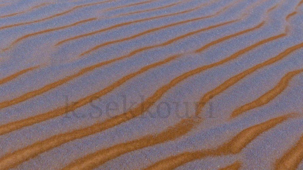hoar frost sahara desert, hoar frost sahara desert pictures, why is hoar frost sahara desert forming bands?, Hoar frost on sand dunes in Algerian Sahara desert forms baffling bands