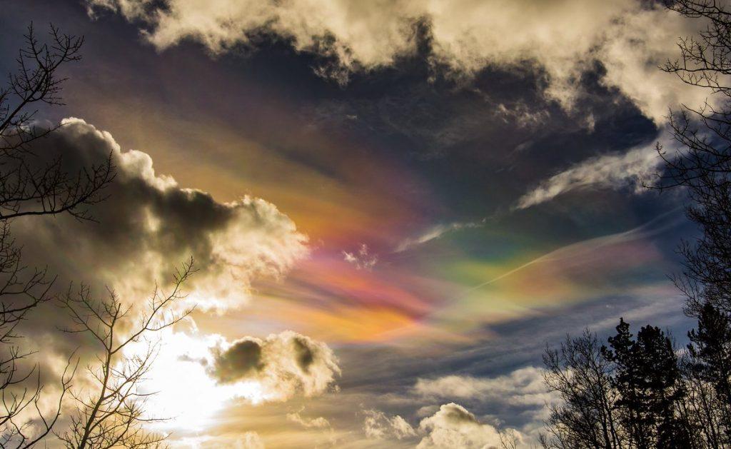 iridescence calgary, iridescent sky calgary