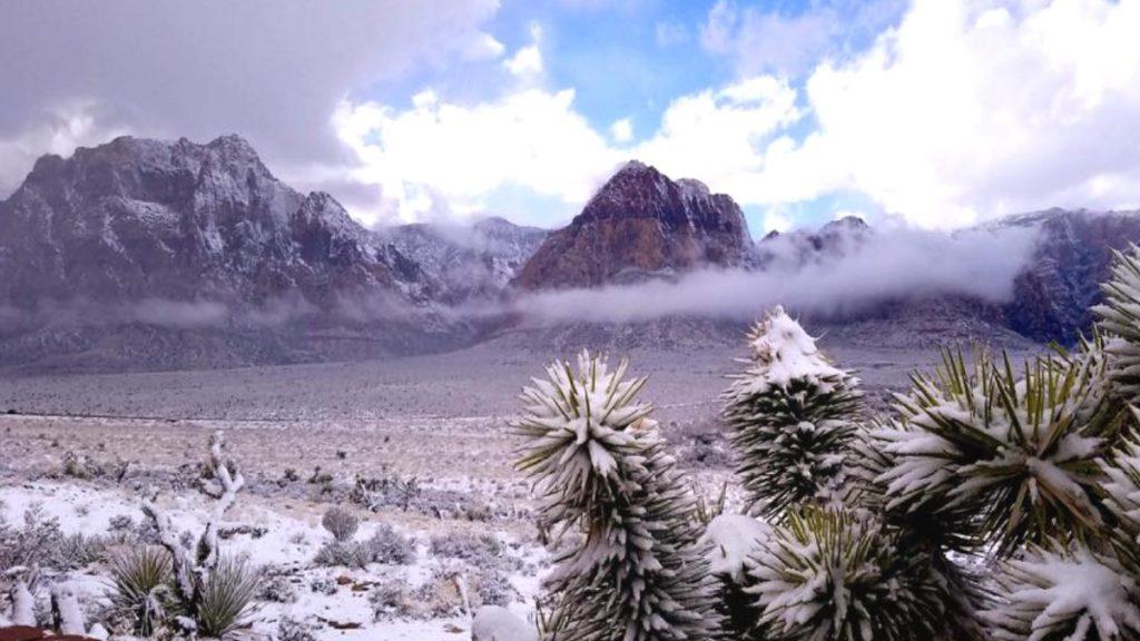 las vegas snow, las vegas snow february 2018, las vegas snow february 2018 pictures