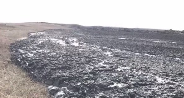 mud volcano erupts in russia
