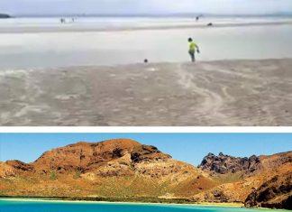 playa balandra water disappears mexico