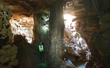 sinkhole exposes cave williamson county texas cambrian cave, sinkhole cave texas, williamson sinkhole cave feb 2018