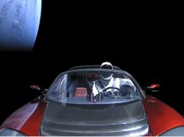 Was there really a Tesla car in space?