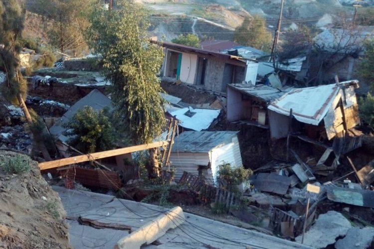 tijuana landslide, tijuana landslide pictures, tijuana landslide videos, Tijuana landslide destroys 70 homes in Lomas del Rubí