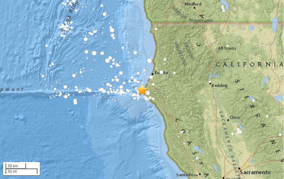 M4.7 earthquake petrolia california, latest earthquake california, california earthquake march 2018