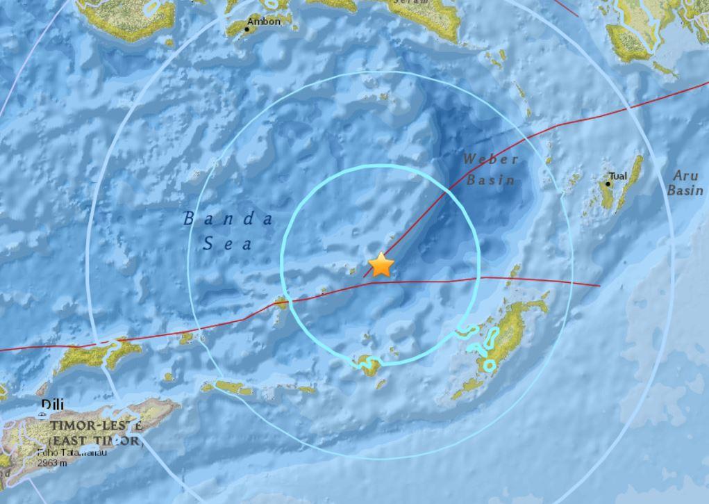 earthquake indonesia march 25 2018, earthquake indonesia march 25 2018 map