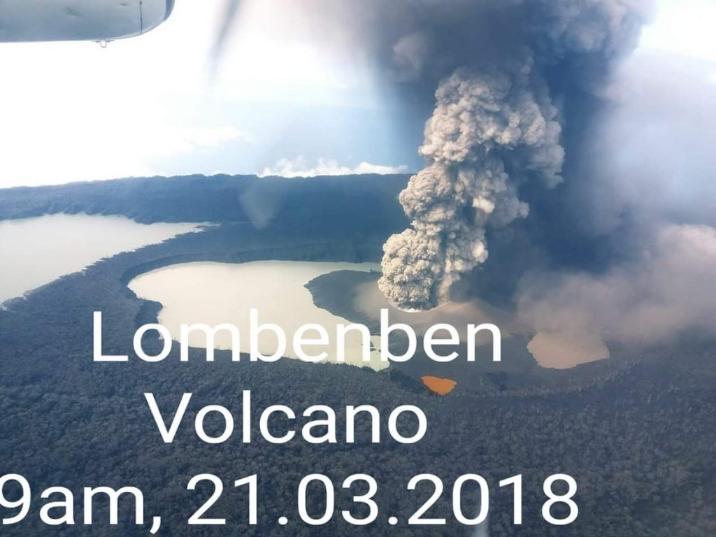 ambae volcano eruption march 2018