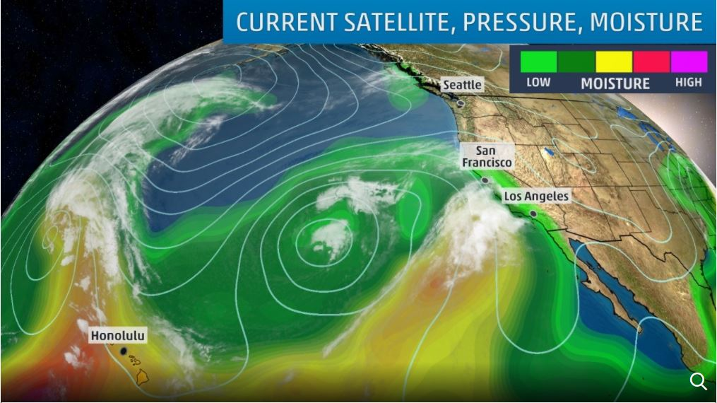 atmospheric river, atmospheric river march 2018, atmospheric river california march 2018, dangerous atmospheric river march 2018 california floods snow