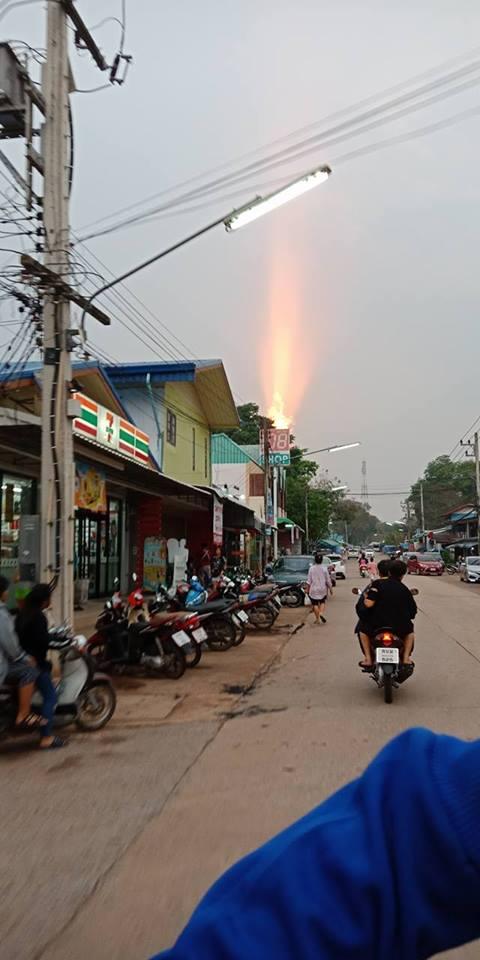 горящее небо Таиланд, небо горит Таиланд март 2018, небо горящий Тайланд видео, Тайланд видео небо горит марта 2018