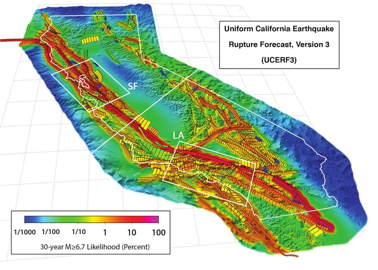 california next big quake, big one california, california big one preparedness, california big one next