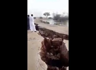 Huge earth cracks opened up in desertic Saudi Arabia on February 27 2018, Huge earth cracks opened up in desertic Saudi Arabia on February 27 2018 video, Huge earth cracks opened up in desertic Saudi Arabia on February 27 2018 pictures