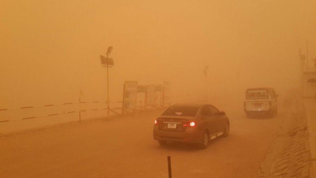 egypt sandstorm, egypt sandstorm pictures, egypt sandstorm video, orange sky egypt sandstorm