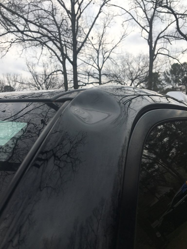 Severe hailstorm hits Arkansas as deadly thunderstorms engulfs the US South, hailstorm arkansas march 2018 video, arkansas hailstorm video march 2018