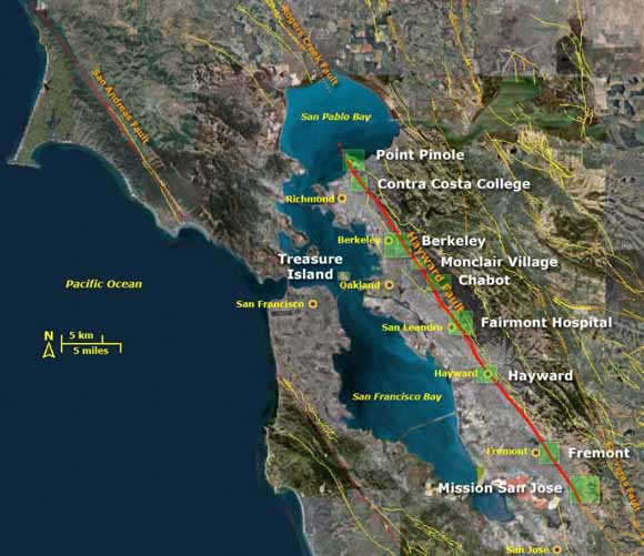 California most dangerous Hayward Fault is overdue and the ...