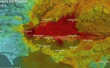 hayward fault, hayward fault california, most dangerous fault of the united states, big one hayward fault california