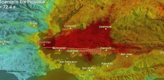 hayward fault, hayward fault california, most dangerous fault of the united states, big one hayward fault california