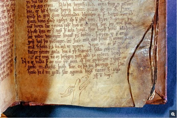 iceland eruption christianity pagan gods, The Codex Regius, an Icelandic collection of poems about pagan gods, contains a version of the Vǫluspá, a very apocalyptic poem, which describes how an eruption and meteorological events would mark the end of the pagan gods, who would be replaced by one, singular god, volcanic eruption christianity iceland