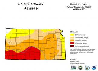 kansas drought wildfire, plains extreme drought wildfire, wildfire drought kansas march 2018