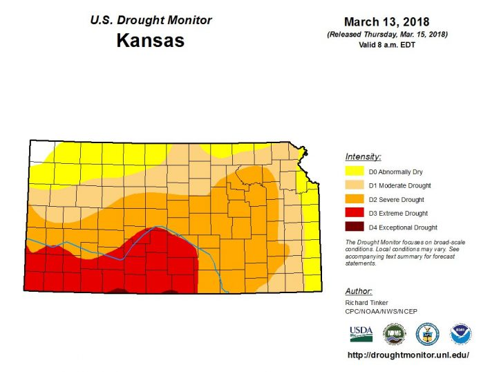 kansas drought wildfire, plains extreme drought wildfire, wildfire drought kansas march 2018